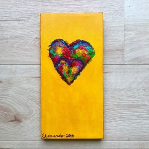 Color Your Heart Painting
